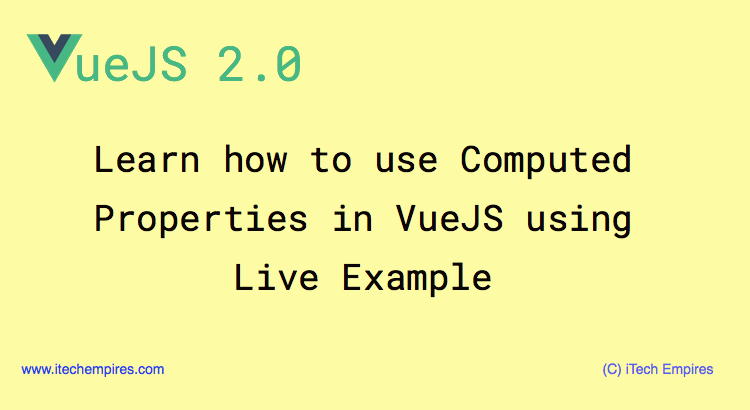 How to Use Computed Properties in VueJS