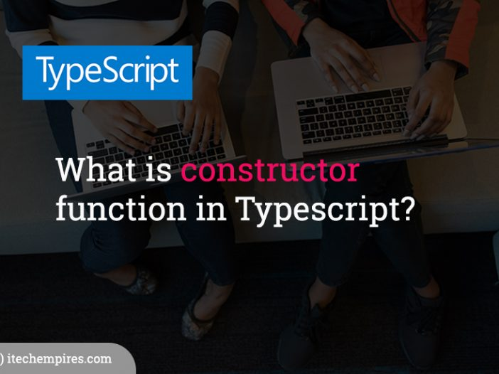 What is constructor function in Typescript
